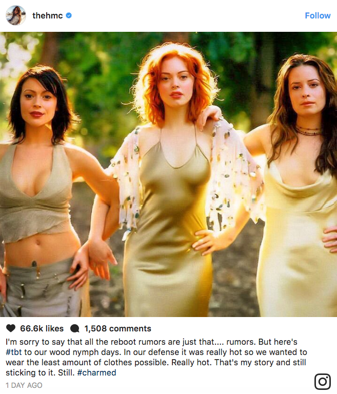 Charmed Reboot?! Alyssa Milano & Holly Marie Combs Join