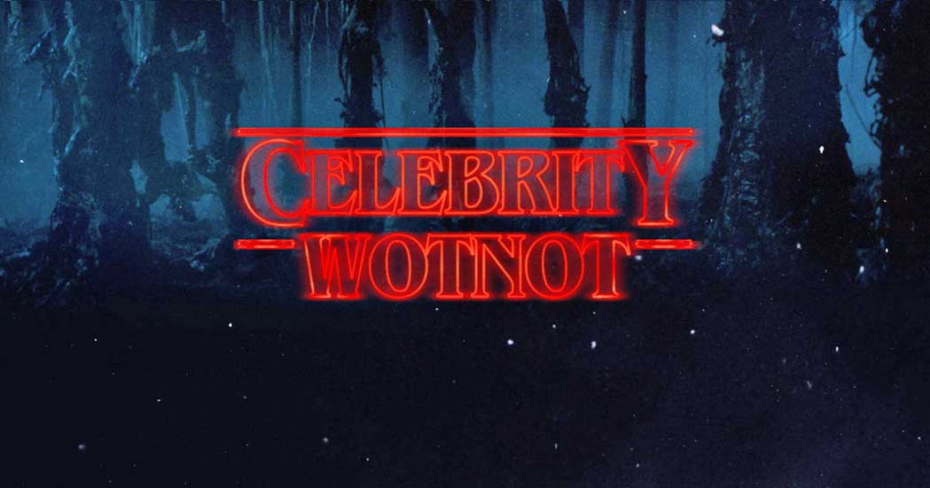 Celebrity WotNot Stranger Things Typeface