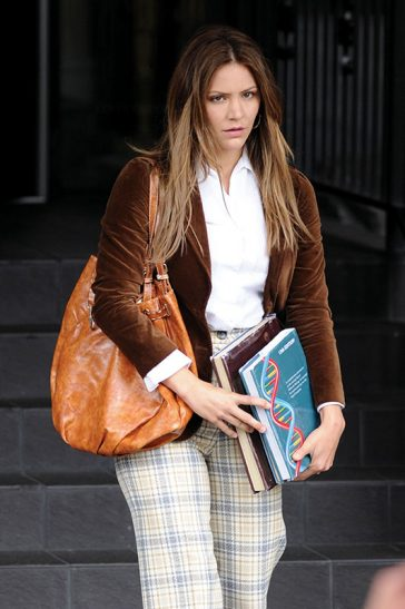 Katharine Mcphee Filming 'The Lost Wife of Robert Durst' in Vancouver © Atlantic Images