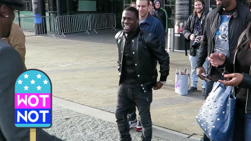 Kevin Hart BBC YouTube Manchester Photoshoot