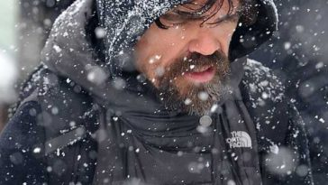 Peter-Dinklage Game of Thrones North face Backpack © Atlantic Images