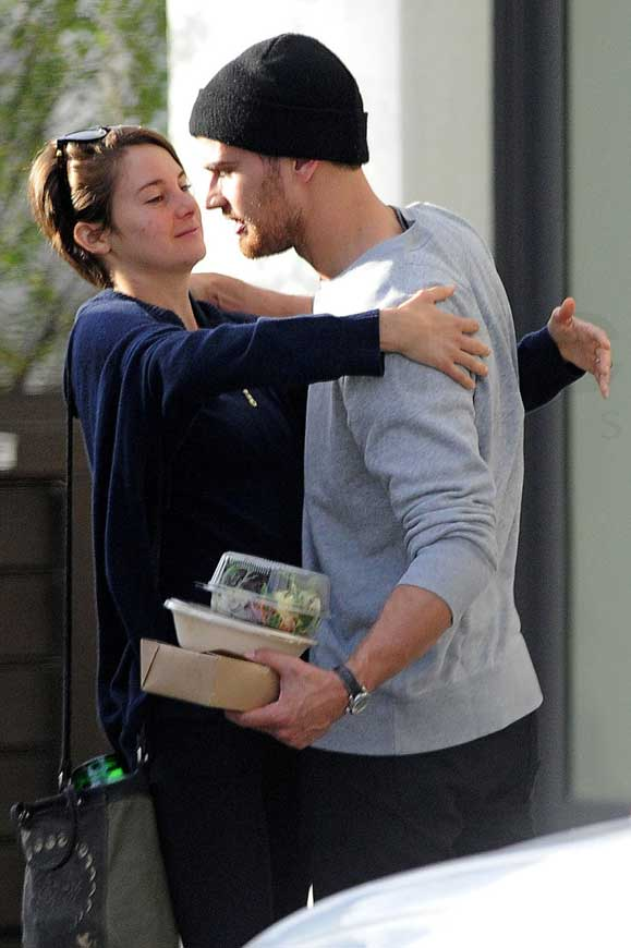 do shailene woodley and theo james dating in real life