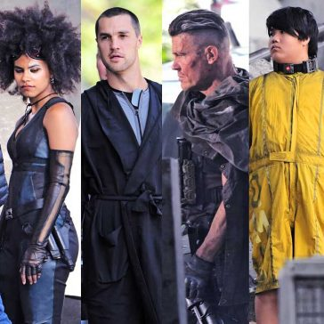 Deadpool 2 New Characters Filming