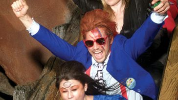 James Franco David Bowie Costume Disneyland