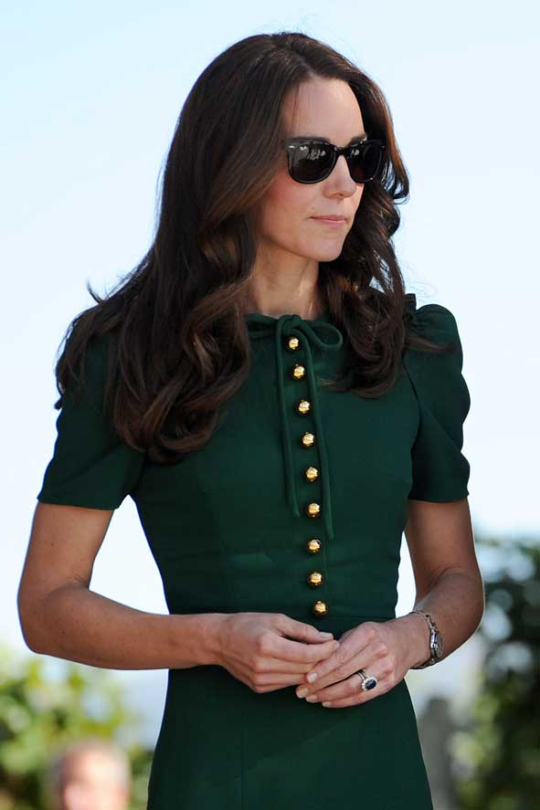 royals in raybans kate middleton and prince william wear
