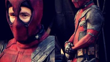 Behind The Mask: Wade Wilson AKA Ryan Reynolds Peeps Out Of Costume Filming Deadpool 2