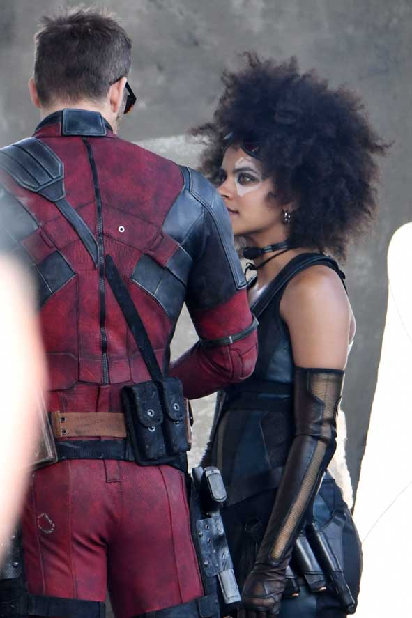 Deadpool 2 New Characters On Set: Cable And Domino Joined ... Ryan Reynolds Instagram