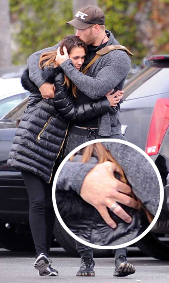 Kellan Lutz Wife To Be Brittany Gonzales Shows Off Engagement Ring Or Are They Actually Married O Celebrity WOTNOT