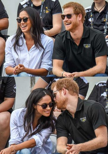 Prince Harry Meghan Markle Invictus Games First Public Appearance