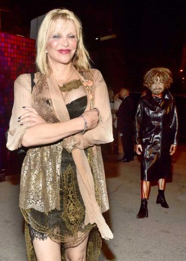 Courtney Love Freaky Halloween Party Stalked Tyrion Lannister Costume Casamigos Hollywood