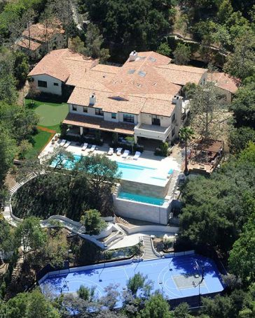 Justin Timberlake Hollywood House LA