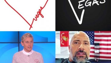Ellen DeGeneres and The Rock posted moving videos and messages on their Instagram accounts - Photos courtesy of Instagram