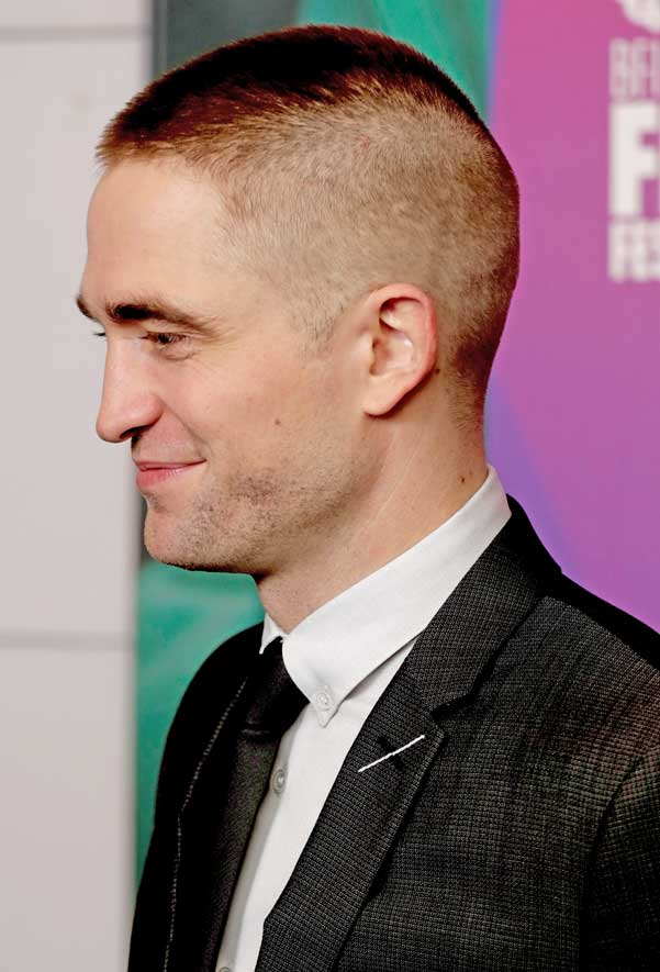 Robert Pattinson Shows Off Buzz Cut See What Social Media Has To