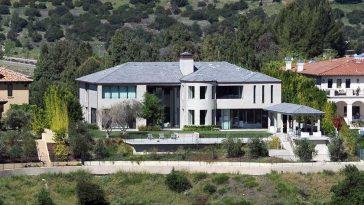 Kim Kardashian Kanye West Bel Air House