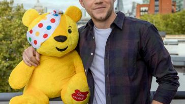 Niall Horam Pudsey Children in Need Checked shirt Fashion Haircut