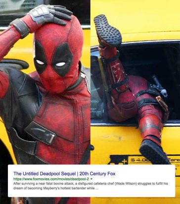 Is Deadpool 2 Actually Called 'The Untitled Deadpool Sequel'? © Atlantic Images