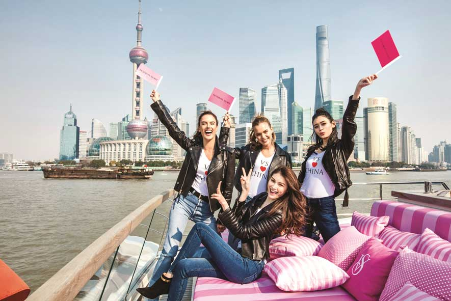 The world's most celebrated and most watched fashion show will be seen in more than 190 countries from Shanghai, China! - Photo Courtesy of Victoria's Secret Media
