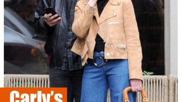 Carly Rae Jepsen Boyfriend James Flannigan 70s Street Style Vancouver Denim Bell bottoms Furry Handbag