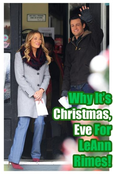 LeAnn Rimes Cibrian Filming Christmas Eve Movie Male Costar Vancouver Winter Fashion