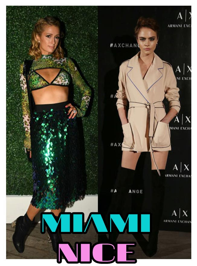 Cara Delevingne In Knee-Highs & Paris Hilton Wows In ...